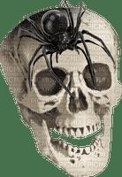 Kaz_Creations Skull Spider Halloween Deco