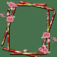 frame deco flower cadre fleur