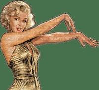 femme-Marilyn Monroe-_golden___-Blue DREAM 70
