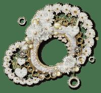 cadre frame circle vintage fleur spring