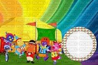 image encre couleur anniversaire cirque carnaval arc en ciel  edited by me