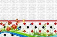 image encre color effet fleurs à pois  edited by me