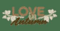 Love in Autumn.Text.Brown.Victoriabea