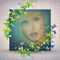 image encre couleur texture effet femme fleurs printemps pastel anniversaire mariage visage edited by me