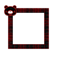 Small Black/Red Frame