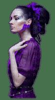 femme violet woman purple