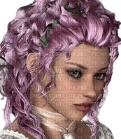 woman lilac hair bp