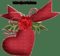 rfa créations - coeur, ruban et  rose rouges