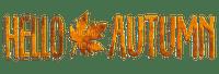 Hello Autumn.Text.Victoriabea