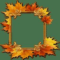 automne feuilles cadre deco autumn frame