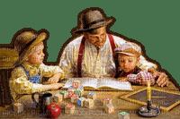 Rena Vintage Kinder Childs Boys Father Vater