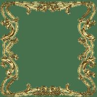 gold vintage frame cadre or Vintage Ornament
