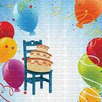 image encre gâteau pâtisserie bon anniversaire ballons chais edited by me