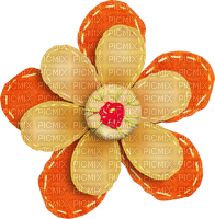 Fleur.Flower.Deco.Orange.Victoriabea