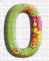 image encre numéro 0 fleurs bon anniversaire edited by me