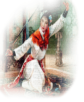 warrior woman asian guerrier femme asiatique