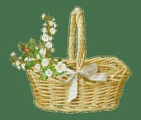 spring basket  flowers