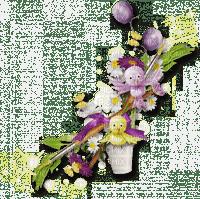 oeuf,pâque,fleur,deko,tube, Orabel, gif, animation ,
