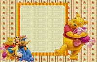 image encre couleur anniversaire Pooh Eeyore Disney automne edited by me