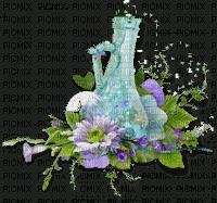 spring printemps flower fleur blossoms fleurs   tube deco purple bottle blumen