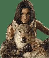 woman wolf femme loup🐺🐺