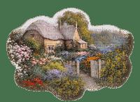 landscape spring garden_jardin printemps-paysage