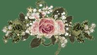 barre fleurie