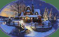 maison noel hiver christmas winter house