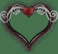 goth heart deco