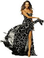 woman zebra dress femme zebre robe🦓🦓