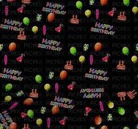 Background. Happy Birthday. Leila