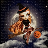 image encre couleur effet Halloween edited by me