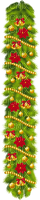 christmas noel garland fir bell ball branch