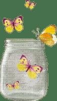 image encre effet papillon pot printemps edited by me
