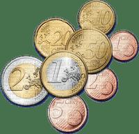 Pièces euro money sous coins pièce