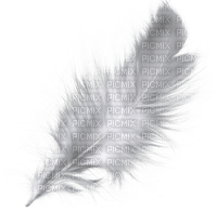 feather feder deco tube white ressort