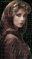 kvinna brun