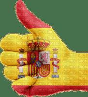drapeau flag flagge spain spanien Espagne deco tube  soccer football España hand