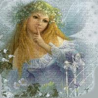 fairy blue bleu feerie fantaisie