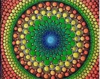 multicolore art image rose bleu jaune noir black kaléidoscope kaleidoscope multicolored color