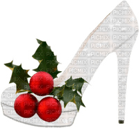 Christmas Shoe Red Green White - Bogusia