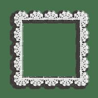 frame spets-vit---lace-white