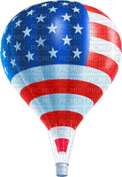 Kathleen Reynolds 4th July American USA Hot-Air-Balloon