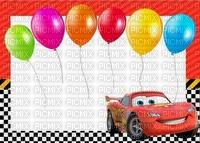 image encre bon anniversaire color effet ballons Disney  edited by me