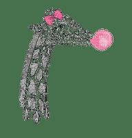 giraffe-girl-with-bubble-gum