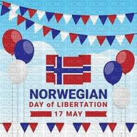 Backgrond. Norwegian 17. May. Leila