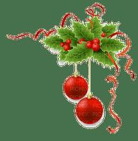 christmas balls deco border boules de noel