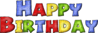 happy birthappy  text