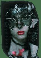 mujer mascara by EstrellaCristal