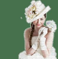 woman femme frau vintage tube spring printemps flower fleur image beauty blanc